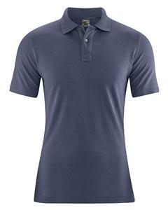 MARIO pánské polo tričko z konopí a biobavlny - tmavě modrá wintersky