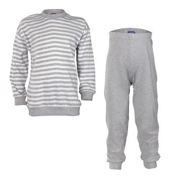 ELEPHANT dětské pyžamo ze 100% biobavlny - šedá