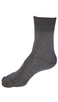 Bambusové ponožky světle šedé (hladké)