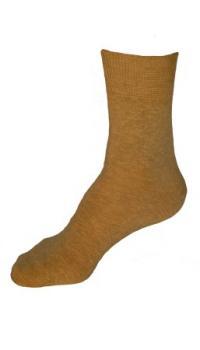Bambusové ponožky béžové (hladké)