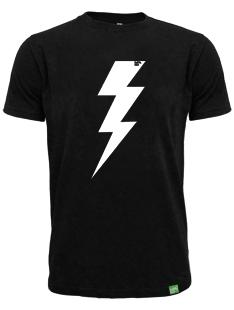 Pánské černé tričko FLASH bio-bavlna