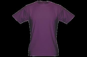Pánské bambusové tričko fialové