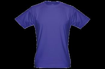Pánské bambusové tričko modré